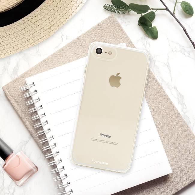 Apple Iphone 8 hoesje - Transparant