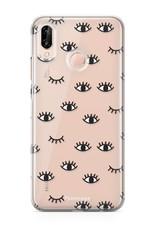 FOONCASE Huawei P20 Lite Handyhülle - Eyes