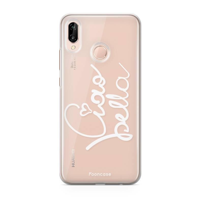 FOONCASE Huawei P20 Lite Handyhülle - Ciao Bella!