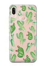FOONCASE Huawei P20 Lite Handyhülle - Kaktus
