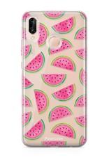 Huawei Huawei P20 Lite hoesje - Watermeloen