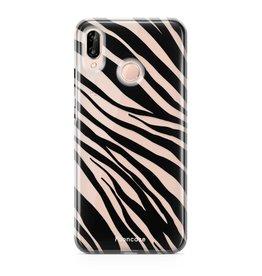 FOONCASE Huawei P20 Lite - Zebra