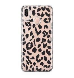 FOONCASE Huawei P20 Lite - Leopardo