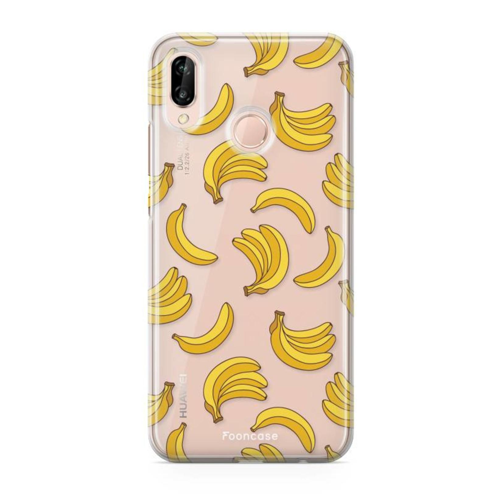 FOONCASE Huawei P20 Lite - Bananas