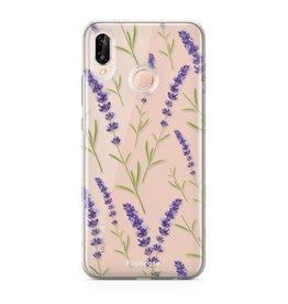 FOONCASE Huawei P20 Lite - Purple Flower