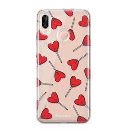 FOONCASE Huawei P20 Lite - Love Pop