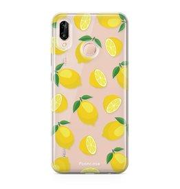 FOONCASE Huawei P20 Lite - Lemons