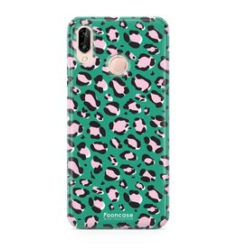 FOONCASE Huawei P20 Lite - WILD COLLECTION / Green