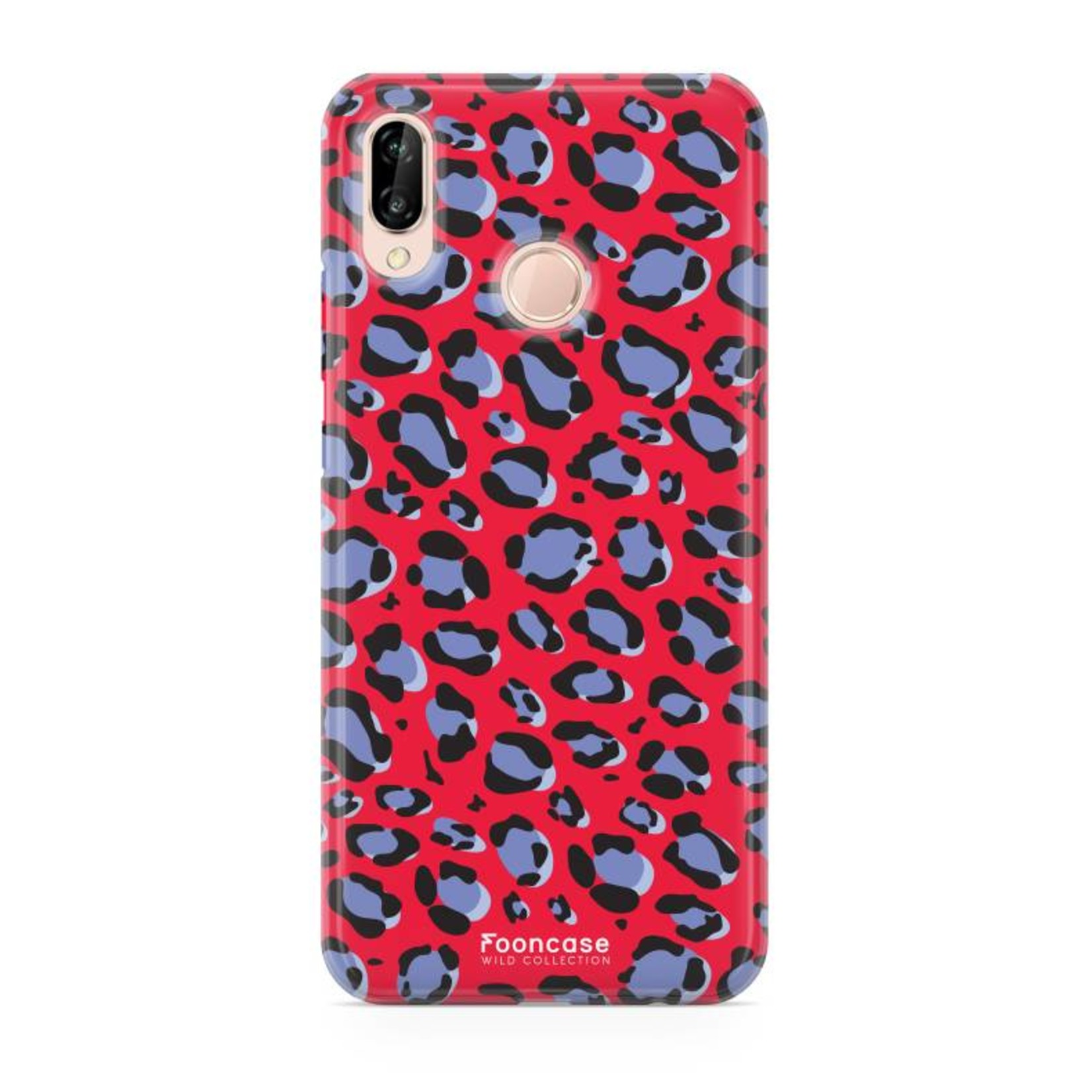 FOONCASE Huawei P20 Lite - WILD COLLECTION / Rot