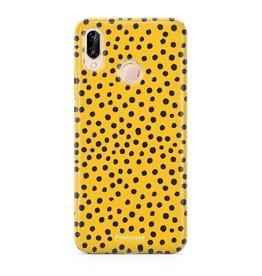 Huawei Huawei P20 Lite - POLKA COLLECTION / Ocher yellow