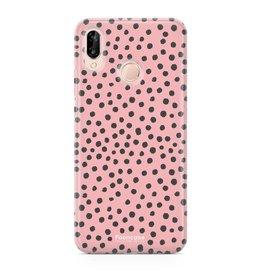 Huawei Huawei P20 Lite - POLKA COLLECTION / Roze