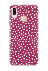 Huawei Huawei P20 Lite - POLKA COLLECTION / Rood
