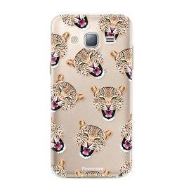 FOONCASE Samsung Galaxy J3 2016 - Cheeky Leopard