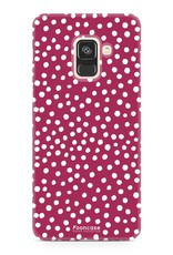 Samsung Samsung Galaxy A8 2018 - POLKA COLLECTION / Red