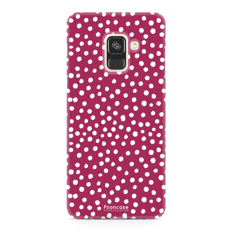 Samsung Samsung Galaxy A8 2018 - POLKA COLLECTION / Rot