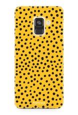 Samsung Samsung Galaxy A8 2018 - POLKA COLLECTION / Ocher Yellow