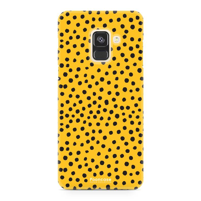 Samsung Samsung Galaxy A8 2018 - POLKA COLLECTION / Ockergelb