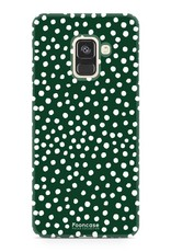 Samsung Samsung Galaxy A8 2018 - POLKA COLLECTION / Dark green