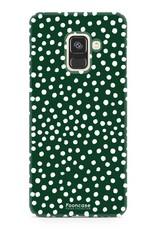 Samsung Samsung Galaxy A8 2018 - POLKA COLLECTION / Dunkelgrün