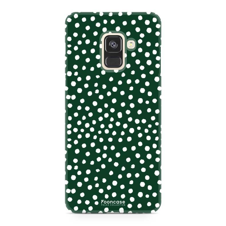 cover samsung a8 2018 verde
