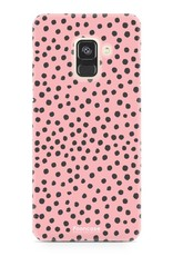 Samsung Samsung Galaxy A8 2018 - POLKA COLLECTION / Pink