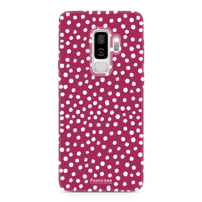 Samsung Samsung Galaxy S9 Plus - POLKA COLLECTION / Red