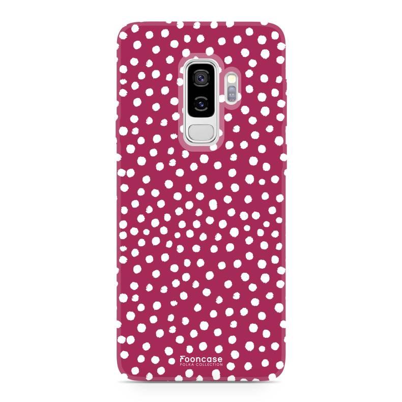 Samsung Samsung Galaxy S9 Plus - POLKA COLLECTION / Rot