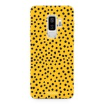 FOONCASE Samsung Galaxy S9 Plus - POLKA COLLECTION / Ocher Yellow