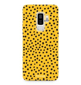 FOONCASE Samsung Galaxy S9 Plus - POLKA COLLECTION / Ocher Yellow