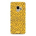 FOONCASE Samsung Galaxy S9 - POLKA COLLECTION / Ocher Yellow