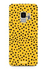 Samsung Samsung Galaxy S9 - POLKA COLLECTION / Ockergelb