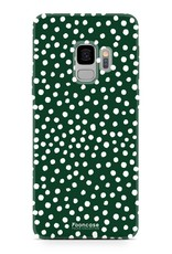 Samsung Samsung Galaxy S9 - POLKA COLLECTION / Dunkelgrün
