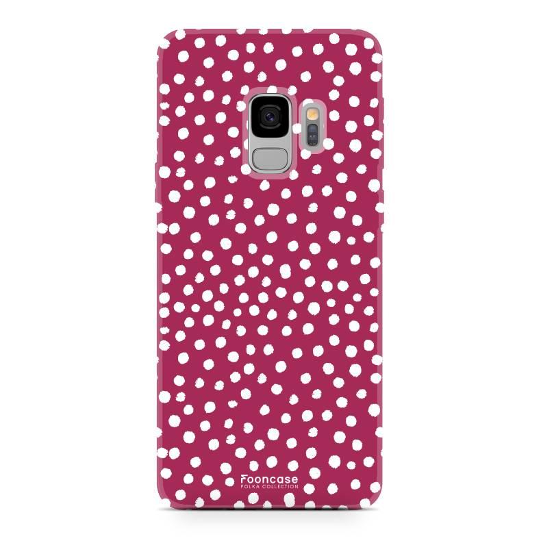 Samsung Samsung Galaxy S9 - POLKA COLLECTION / Rot
