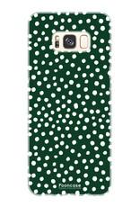 Samsung Samsung Galaxy S8 - POLKA COLLECTION / Dunkelgrün