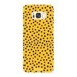 FOONCASE Samsung Galaxy S8 Plus - POLKA COLLECTION / Ocher Yellow