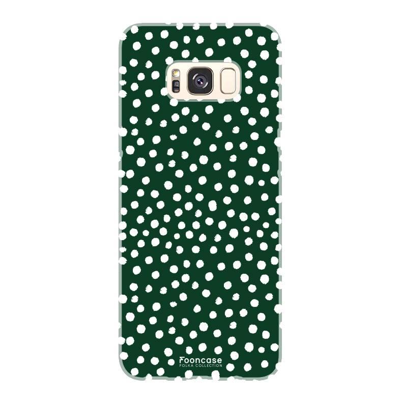 Samsung Samsung Galaxy S8 Plus - POLKA COLLECTION / Dark green