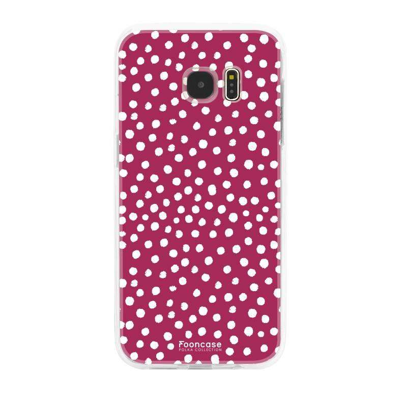 Samsung Samsung Galaxy S7 Edge - POLKA COLLECTION / Rot