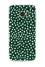 Samsung Samsung Galaxy S7 Edge - POLKA COLLECTION / Dark green