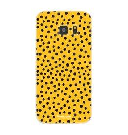 FOONCASE Samsung Galaxy S7 - POLKA COLLECTION / Ocher Yellow