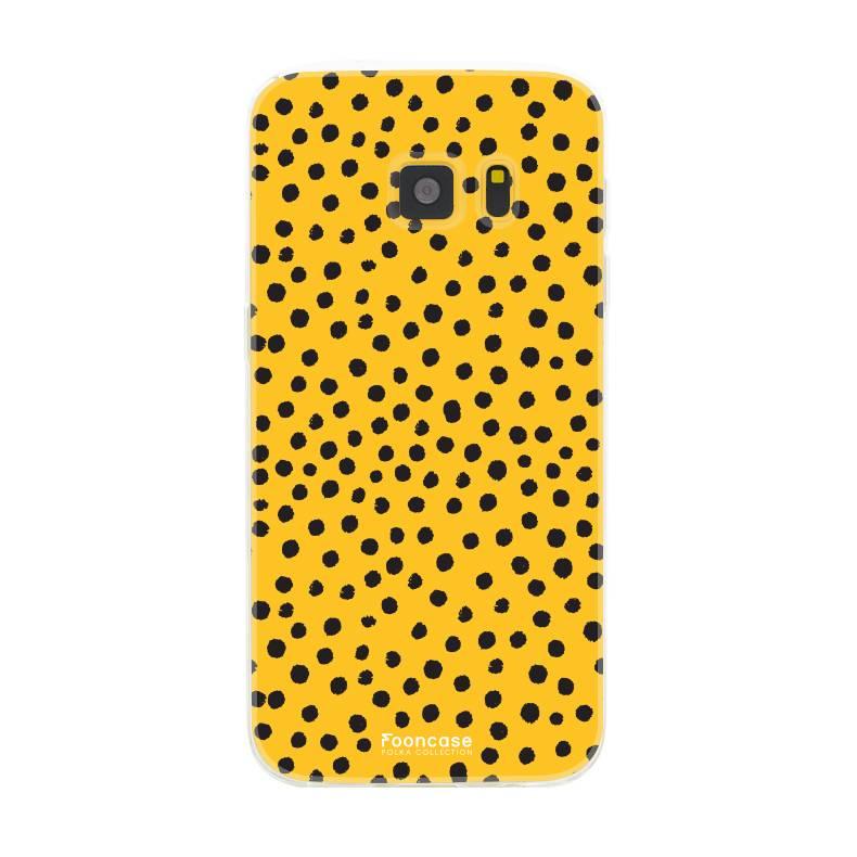 Samsung Samsung Galaxy S7 - POLKA COLLECTION / Ocher Yellow