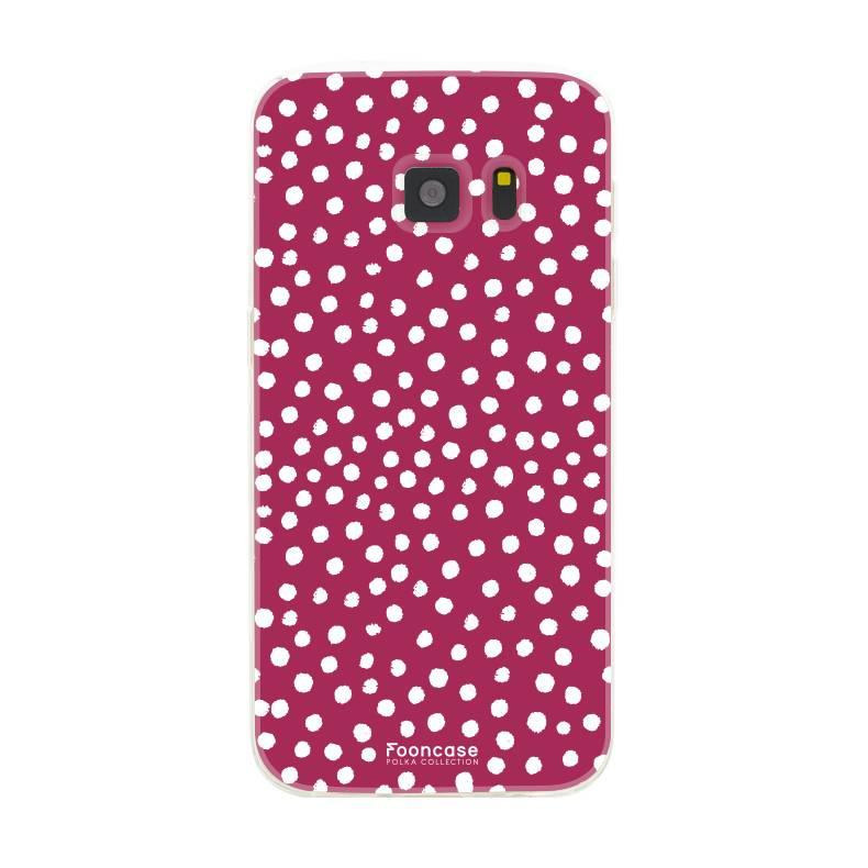 Samsung Samsung Galaxy S7 - POLKA COLLECTION / Rot