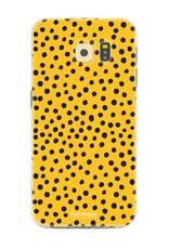 Samsung Samsung Galaxy S6 Edge - POLKA COLLECTION / Ocher Yellow