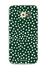 Samsung Samsung Galaxy S6 Edge - POLKA COLLECTION / Dunkelgrün
