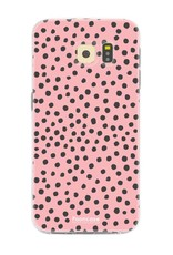 Samsung Samsung Galaxy S6 Edge - POLKA COLLECTION / Pink