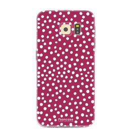 Samsung Samsung Galaxy S6 Edge - POLKA COLLECTION / Rot