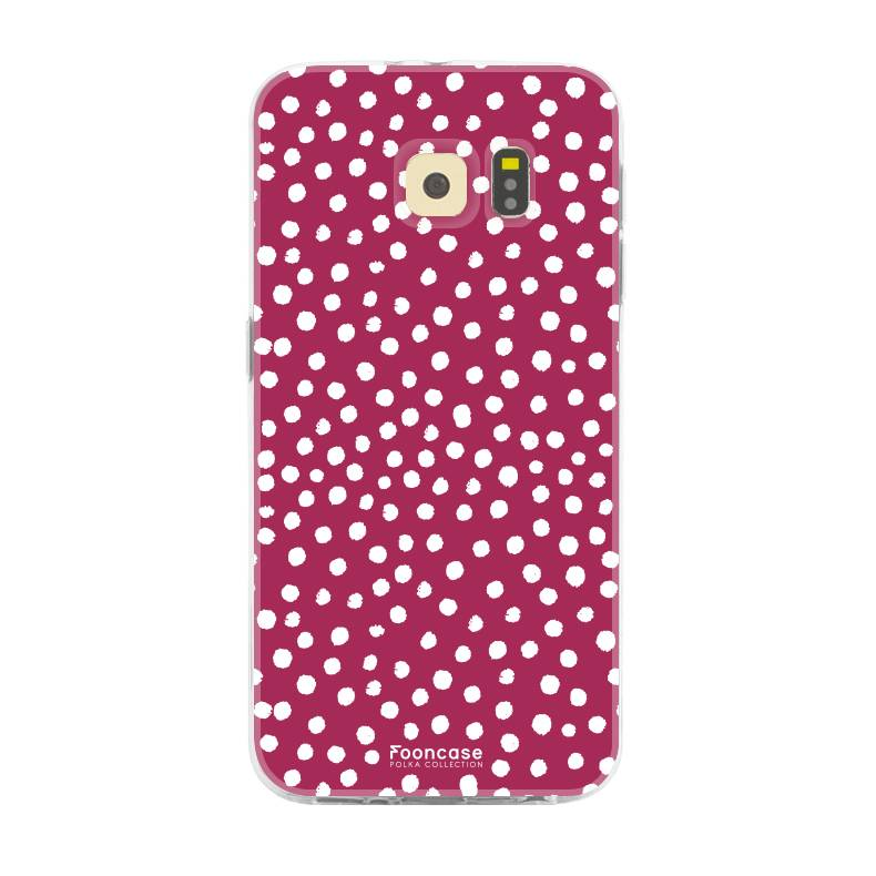 Samsung Samsung Galaxy S6 Edge - POLKA COLLECTION / Red