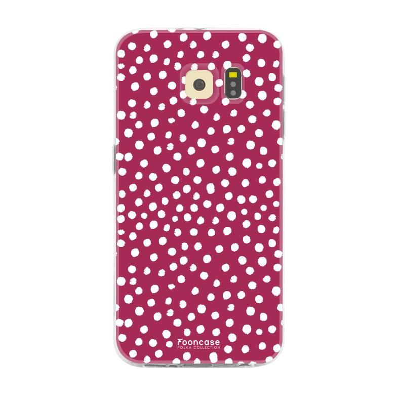 Samsung Samsung Galaxy S6 - POLKA COLLECTION / Red
