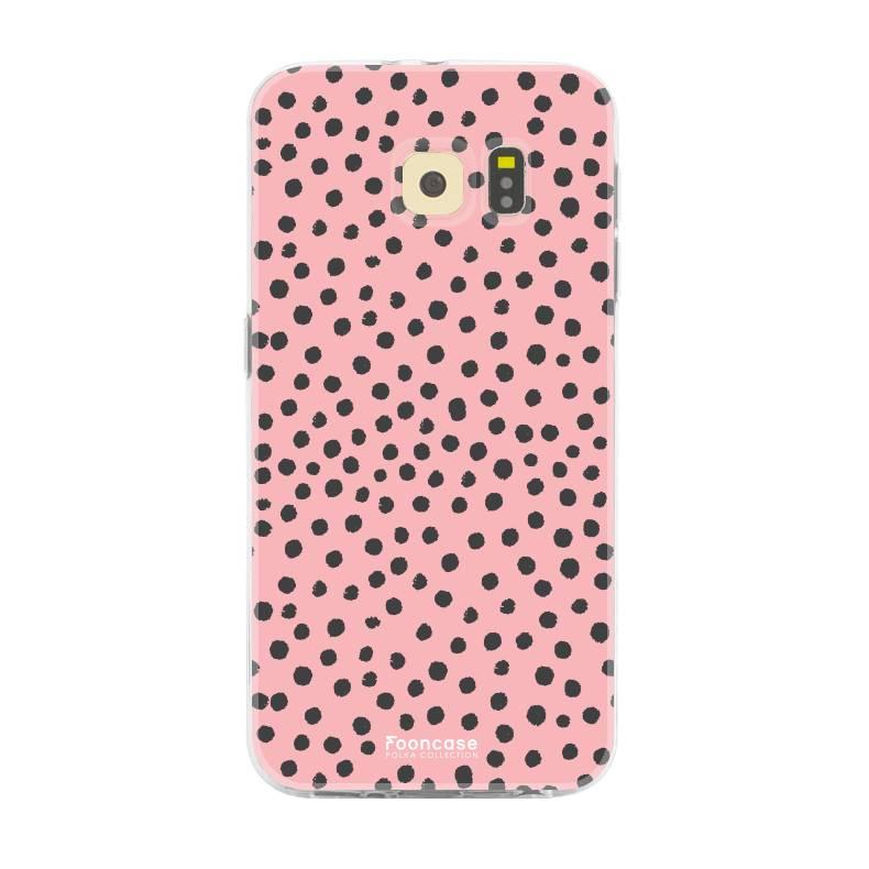 Samsung Samsung Galaxy S6 - POLKA COLLECTION / Rosa