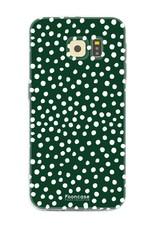 Samsung Samsung Galaxy S6 - POLKA COLLECTION / Dunkelgrün