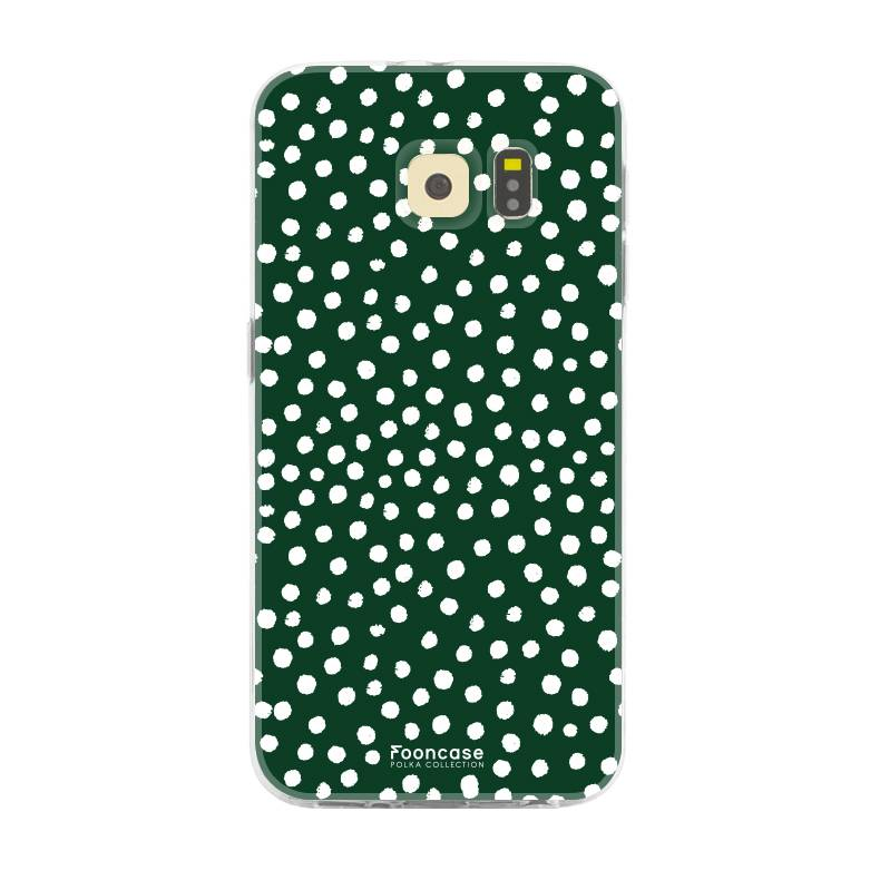 Samsung Samsung Galaxy S6 - POLKA COLLECTION / Dark green